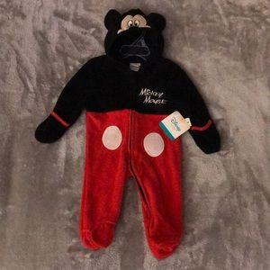 Disney Baby Fleece Mickey Mouse Fleece Sleeper